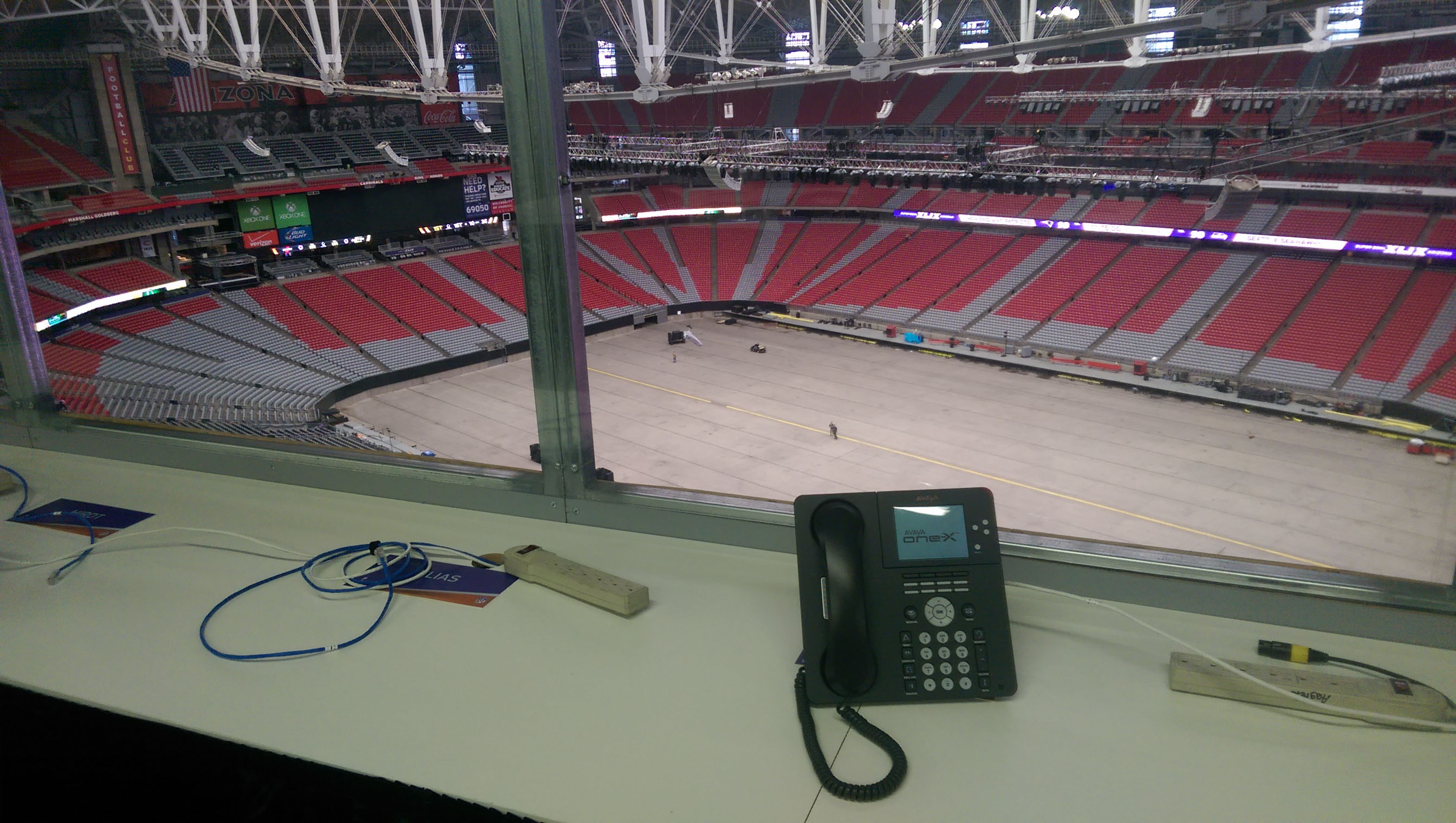NFL Stadium Technology